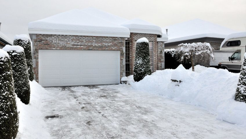 Protecting Your Concrete Driveway During Winter Evans